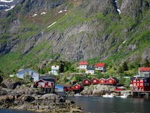 Lofoten Island in Norway Stock Images