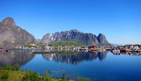 Lofoten Island in Norway Stock Photography