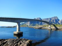 Lofoten Island in Norway Royalty Free Stock Photography