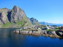 Lofoten Island in Norway Stock Photos