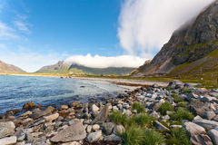 Lofoten island, Norway. Royalty Free Stock Photography