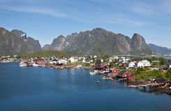 Lofoten island, Norway. Stock Image