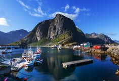 Lofoten Royalty Free Stock Photography
