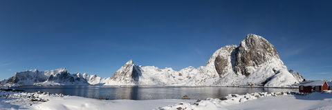 Lofoten island Royalty Free Stock Photo