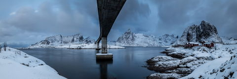 Lofoten island Royalty Free Stock Photography