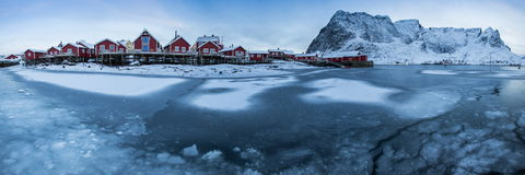 Lofoten island Royalty Free Stock Images