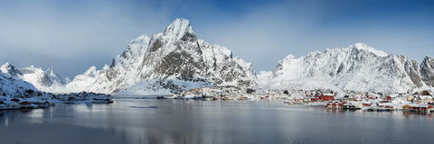 Lofoten island Royalty Free Stock Photography