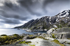 Lofoten Islands Stock Photography