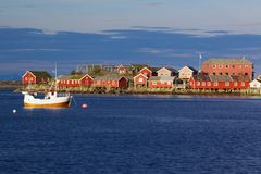 Lofoten islands Stock Image