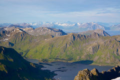 Lofoten islands Royalty Free Stock Photo