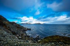 Lofoten islands. Beautiful Norway spring landscape. Royalty Free Stock Image