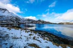 Lofoten islands. Beautiful Norway spring landscape. Stock Photo
