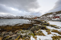 Lofoten islands. Beautiful Norway spring landscape. Stock Image