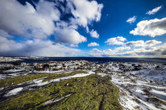 Lofoten islands. Beautiful Norway spring landscape. Royalty Free Stock Images