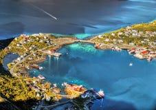 Lofoten Islands, Fjords Tours Cruises, Norway Royalty Free Stock Image