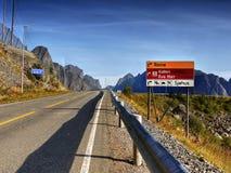 Lofoten Islands, Fjords Tours Cruises, Norway Royalty Free Stock Photography