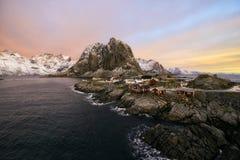 Lofoten islands, Hamnoy Royalty Free Stock Photo