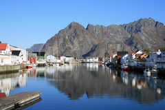 Lofoten islands - Norway Royalty Free Stock Images