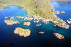 Lofoten Islands in Norway Royalty Free Stock Images