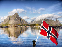 Lofoten Islands, Norway Landscape Royalty Free Stock Photo