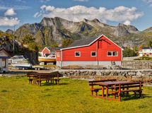Lofoten Islands  Norway Stock Photography