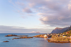 Lofoten Islands Sunrise Norway Stock Photography