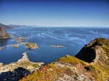 Lofoten Islands, Tours Cruises Norway Stock Images