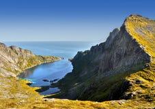 Lofoten Islands, Tours Cruises, Norway Royalty Free Stock Photography