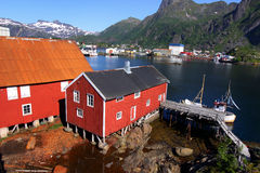 Lofoten Islands X Royalty Free Stock Photos