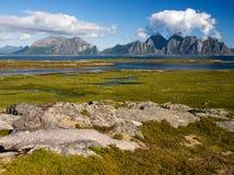 Lofoten landscape Stock Images