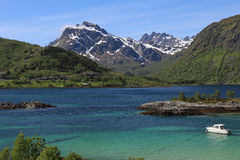 Lofoten landscape Royalty Free Stock Images