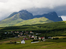 Lofoten landscape, Norway Royalty Free Stock Image