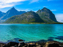 Lofoten landscape Stock Image