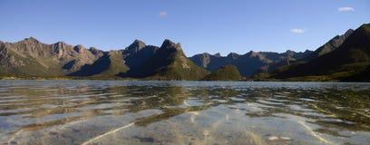 Lofoten landscapes Royalty Free Stock Images