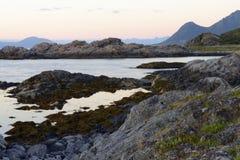 Lofoten landscapes Stock Images