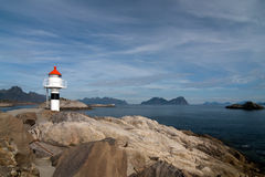 Lofoten lighthouse Royalty Free Stock Photo