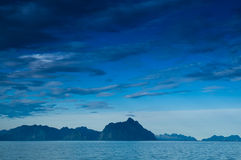 Lofoten - Mountains Stock Images