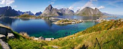 Lofoten, Noorwegen stock foto's