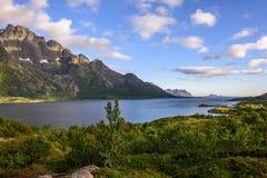 lofoten Noruega Imagen de archivo libre de regalías