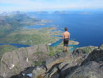 Lofoten, Norvegia Immagini Stock