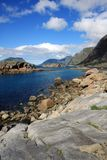 Lofoten in Norway Royalty Free Stock Photos