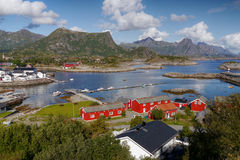 lofoten Norway Fotografia Stock