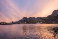 lofoten Norway asturias Cudillero połowu Spain wioska Obrazy Royalty Free