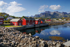 Lofoten, Norway Royalty Free Stock Image