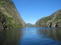 lofoten Norway fiordu wyspy Fotografia Royalty Free
