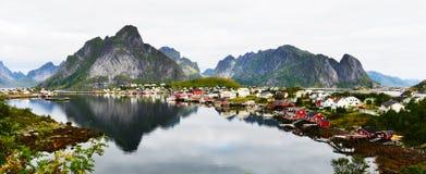 Lofoten, Norwegen Stockbild