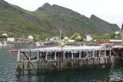 Lofoten półwysep, Norwegia Zdjęcia Stock