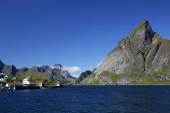 Lofoten panorama Stock Images