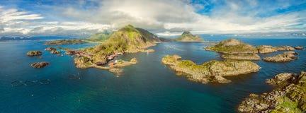 Lofoten panorama Royalty Free Stock Photo