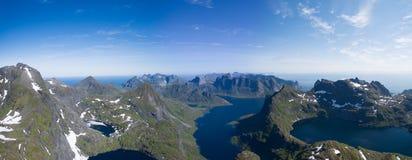 Lofoten panorama Stock Photography